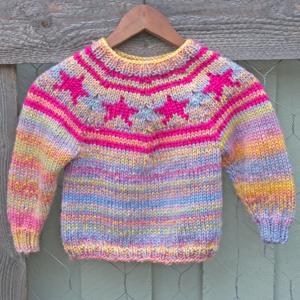 Strikke genser til barn